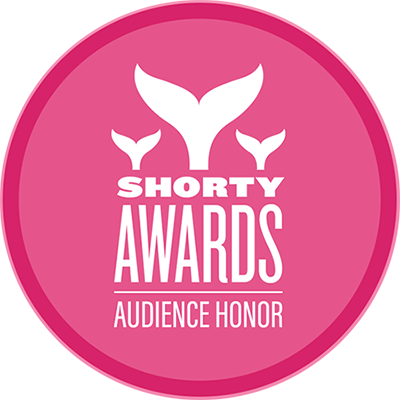 Shorty Awards Audience Honor